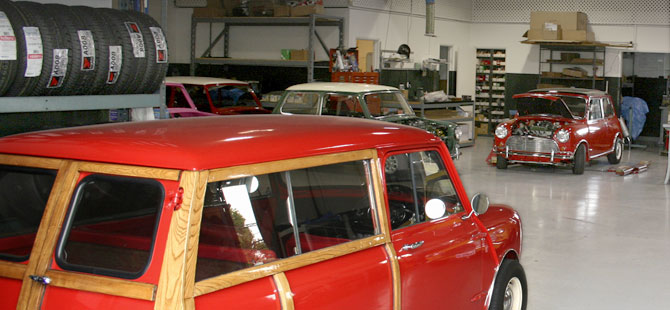 Heritage garage classic mini cooper parts service for Garage mini cooper annemasse