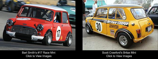 Classic Mini Rally Car Parts