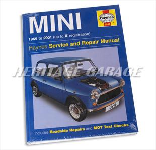 heritage garage classic mini mini cooper parts manuals books rh heritagegarage com Mini Cooper Manual Transmission 2010 Mini Cooper Service Manual