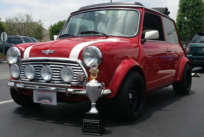 Heritage Garage Classic Mini Mini Cooper Parts Service - Enderle center car show